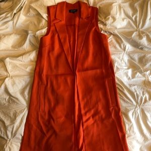 Missguided sleeveless trench